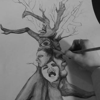 فال با نقاشی درخت