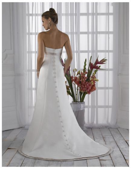 Материнство Свадебные платья A-Line без бретелек Длина пола Часовня...