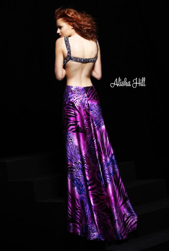 مدل لباس شب جدید 2011 بنفش
