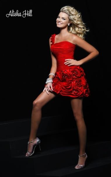 مدل پیراهن کوتاه مجلسی شیک 2010