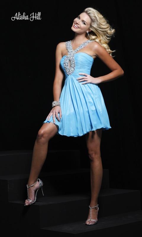 مدل لباس مجلسی کوتاه شیک 2011