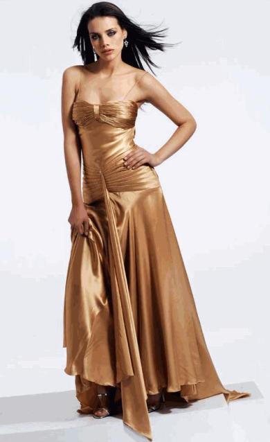 مدل لباس شب شیک پوشیده