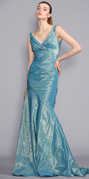 مدل لباس شب آبی کم رنگ براق بسیار شیک و جذاب جدید 2010